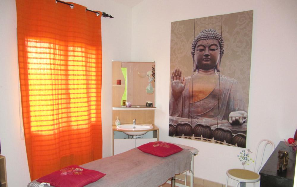 gîte Norpech table de massage