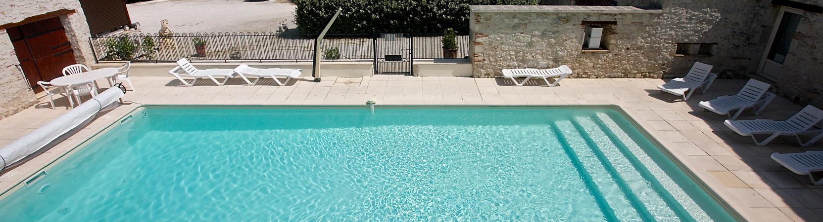 Gîte Norpech la piscine