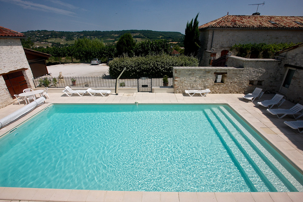 gîte Norpech piscine